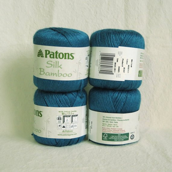 Patons Silk Bamboo Unique Lot Patons Silk Bamboo Yarn In Sapphire by Findyourglist Of Innovative 41 Photos Patons Silk Bamboo