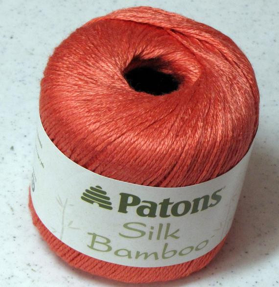 Patons Silk Bamboo Unique Patons Silk Bamboo Yarn Coral by theirresistibleewe On Etsy Of Innovative 41 Photos Patons Silk Bamboo
