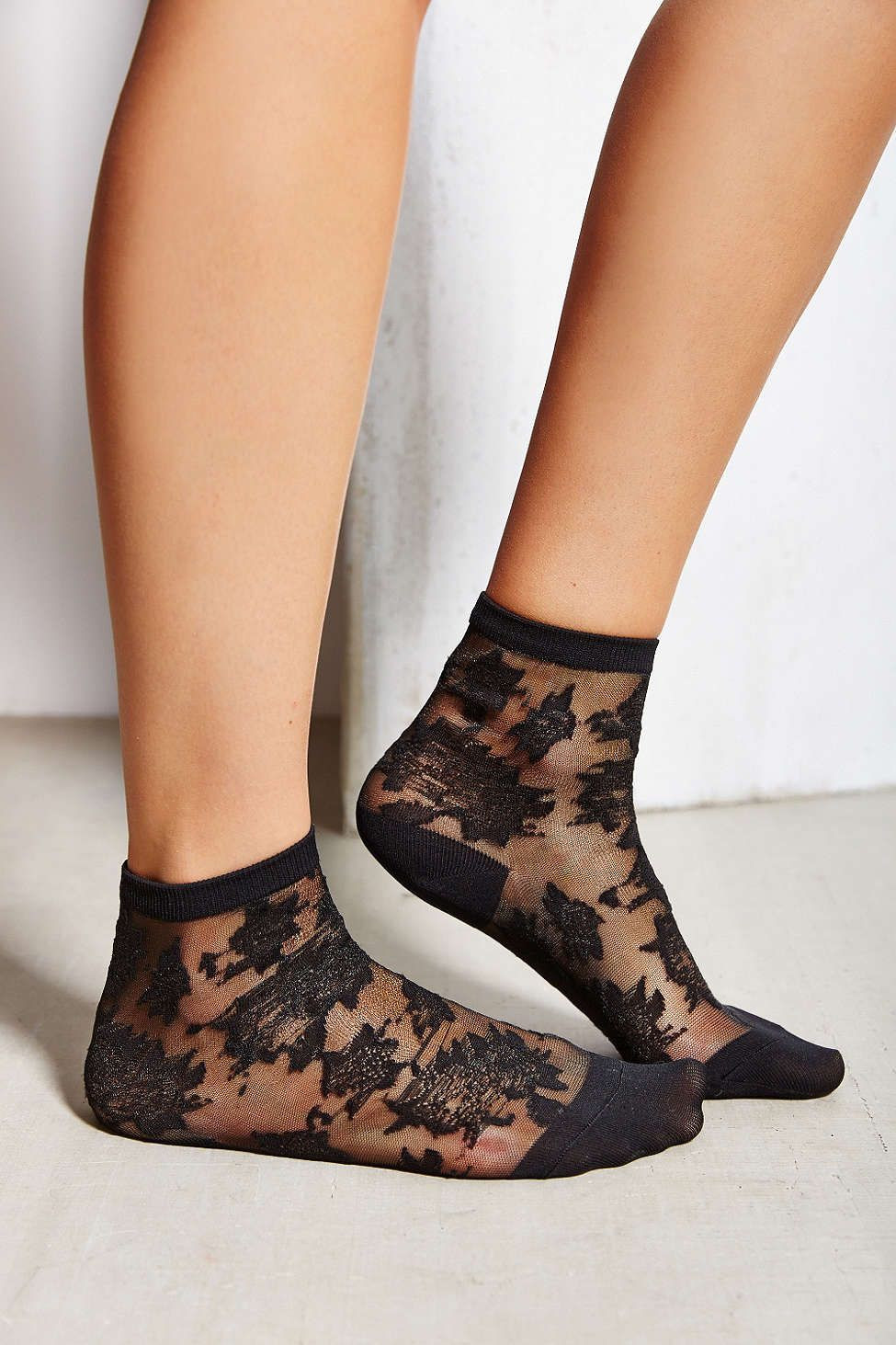 Patterned socks Awesome Patterned Sheer Ankle sock Urban Outfitters Of Superb 48 Images Patterned socks