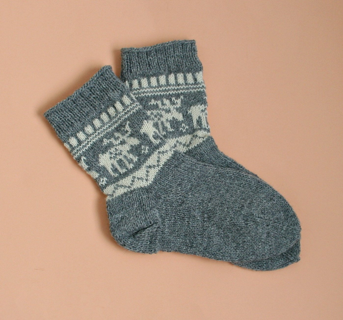 Patterned socks Best Of Hand Knit Wool socks Deer Pattern socks Moose Pattern socks Of Superb 48 Images Patterned socks