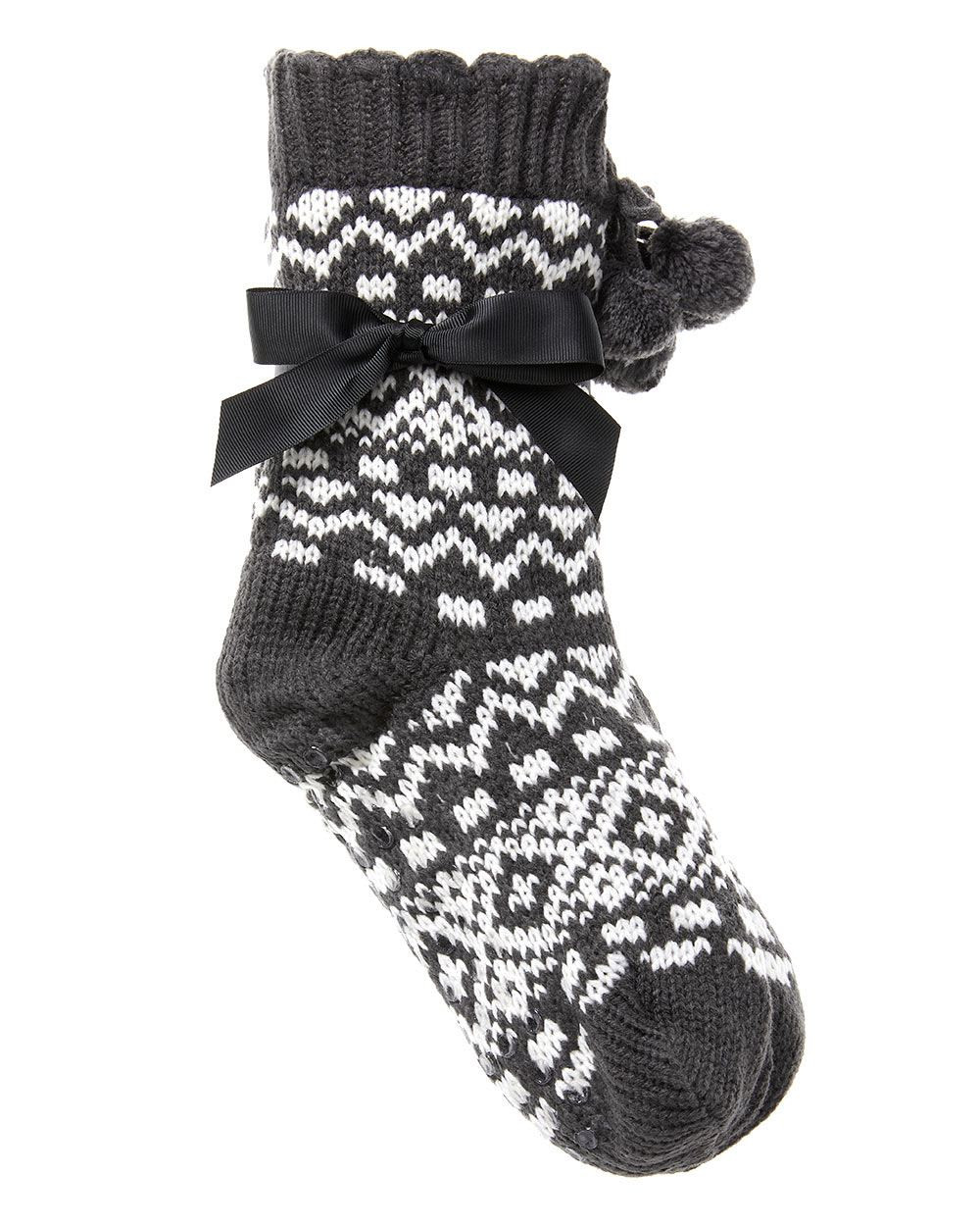 Patterned socks Best Of Patterned Knit socks with Pompom Of Superb 48 Images Patterned socks