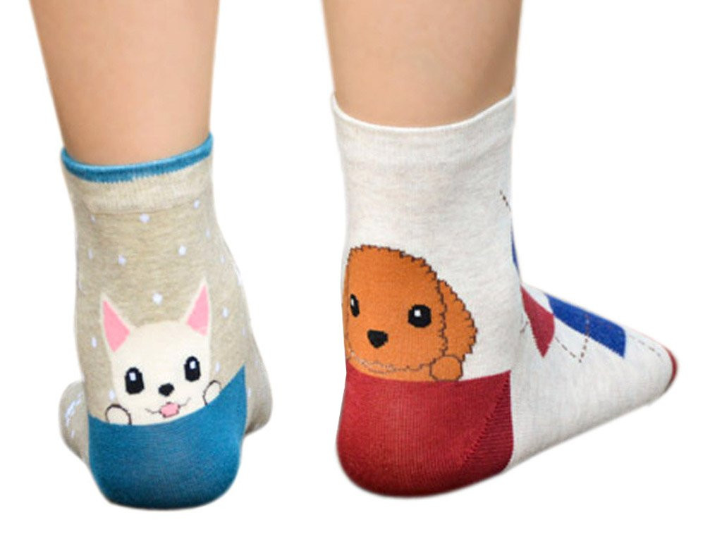 Patterned socks Best Of Patterned socks with Puppies with Free Delivery Of Superb 48 Images Patterned socks