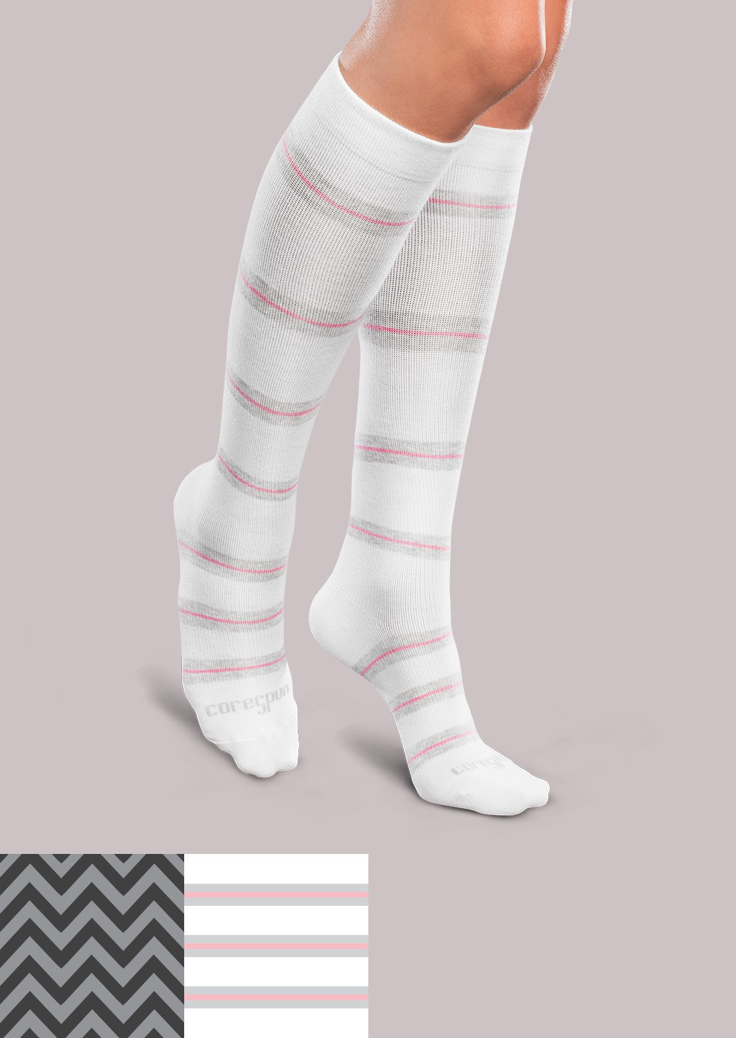 Patterned socks Elegant Light Support socks Patterned Core Spun Of Superb 48 Images Patterned socks