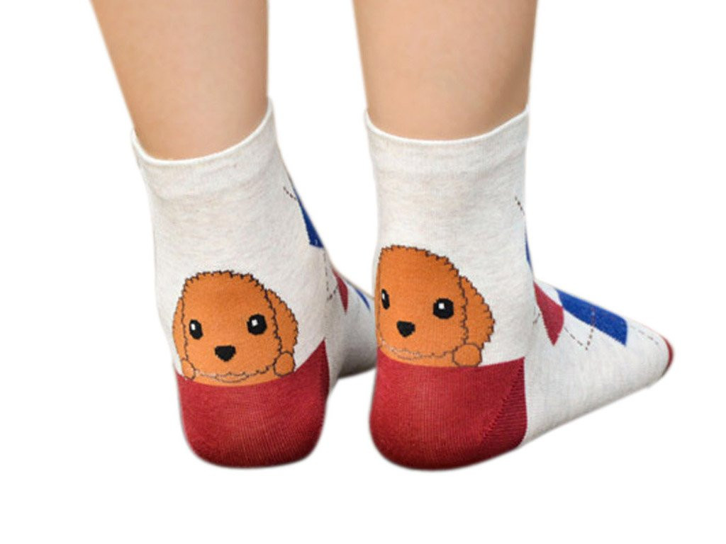 Patterned socks Elegant Patterned socks with Puppies with Free Delivery Of Superb 48 Images Patterned socks