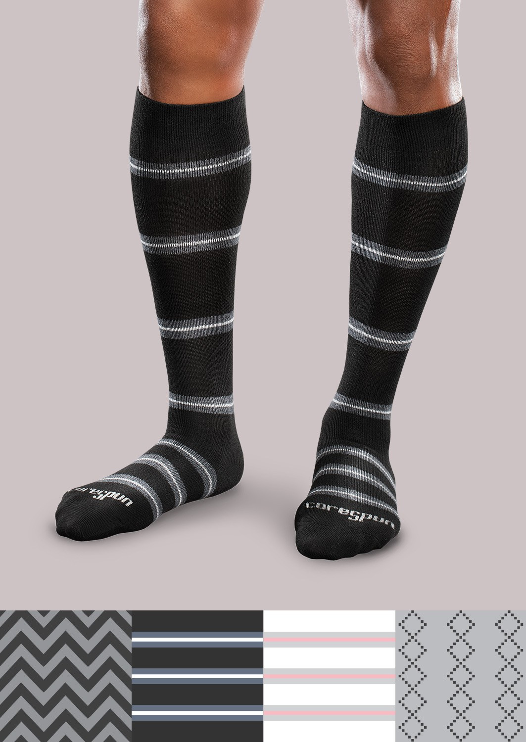 Patterned socks Luxury Moderate Support socks Patterned Core Spun Of Superb 48 Images Patterned socks