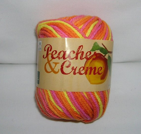 Peaches and Cream Cotton Yarn Fresh Peaches and Creme Cotton Yarn Candy Colors Stripes Of Brilliant 43 Pictures Peaches and Cream Cotton Yarn
