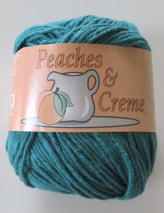 Cotton Yarn Peaches and Creme by SandisStashShop on Etsy
