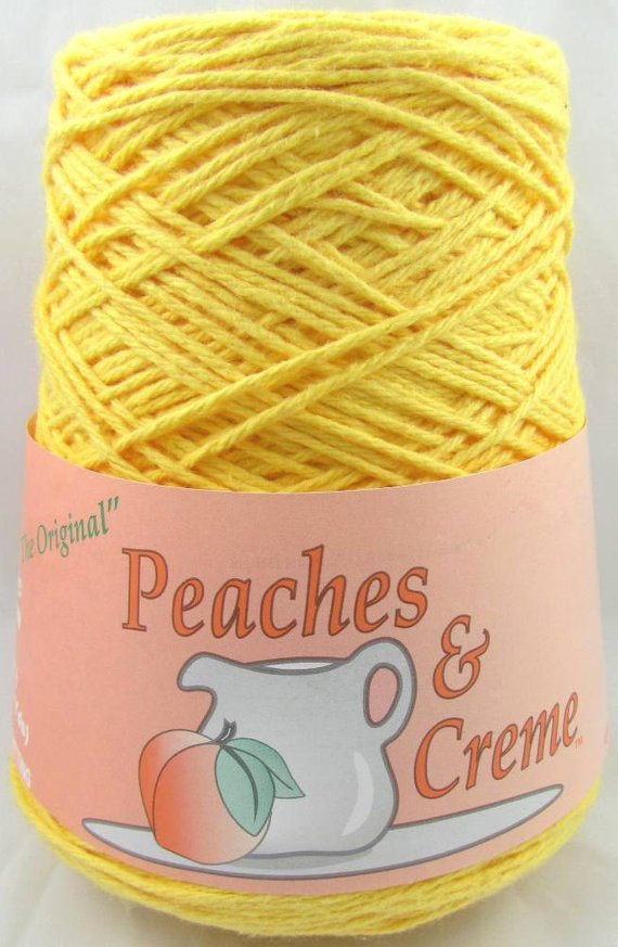 Peaches and Cream Yarn Lovely Peaches & Creme Yarn Yellow 14 Oz Cone original by Of Beautiful 43 Pics Peaches and Cream Yarn