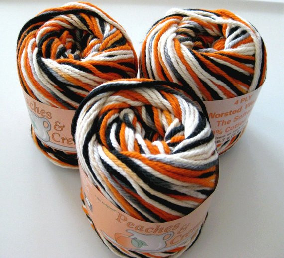 Peaches and Cream Yarn Luxury Cotton Yarn Peaches and Cream Trick or Treat for by Crochetgal Of Beautiful 43 Pics Peaches and Cream Yarn