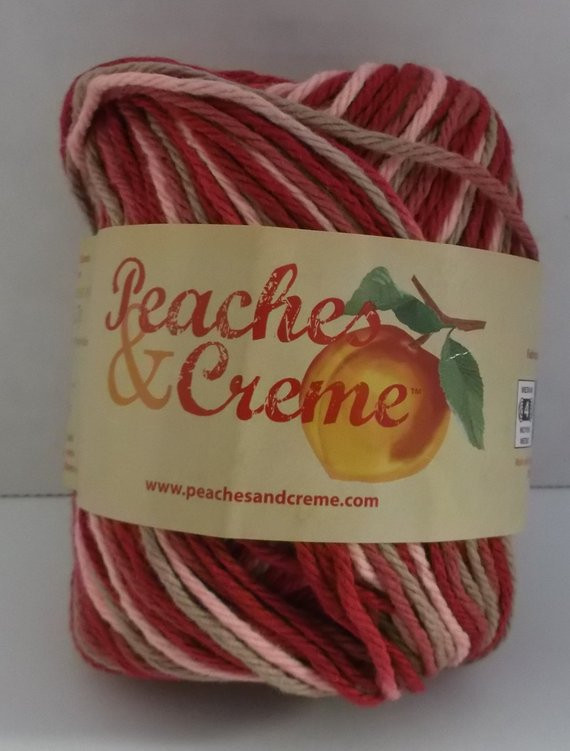 Peaches and Cream Yarn Luxury Peaches & Creme Cotton Variegated Yarn Colour Damask 4 Of Beautiful 43 Pics Peaches and Cream Yarn