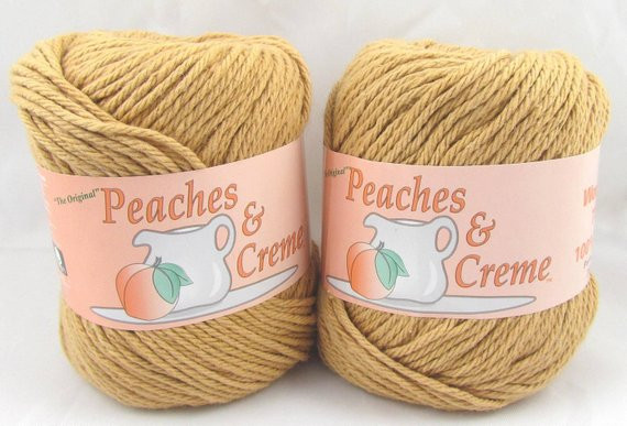 Peaches and Cream Yarn Unique Camel Peaches & Creme Yarn 2 Balls Of Beautiful 43 Pics Peaches and Cream Yarn