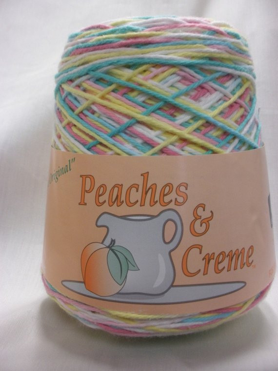 Peaches and Cream Yarn Unique Free Shipping Peaches & Creme Cotton by Notwithoutannette Of Beautiful 43 Pics Peaches and Cream Yarn