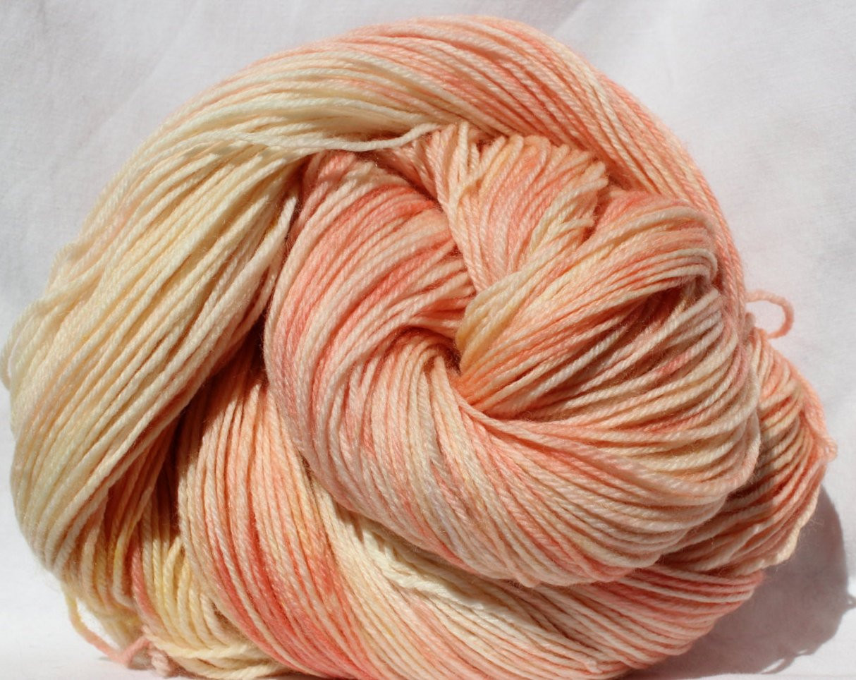 Peaches and Cream Yarn Website Awesome Hand Dyed Yarn Peach Cream Yarn Variegated by Of Wonderful 47 Models Peaches and Cream Yarn Website