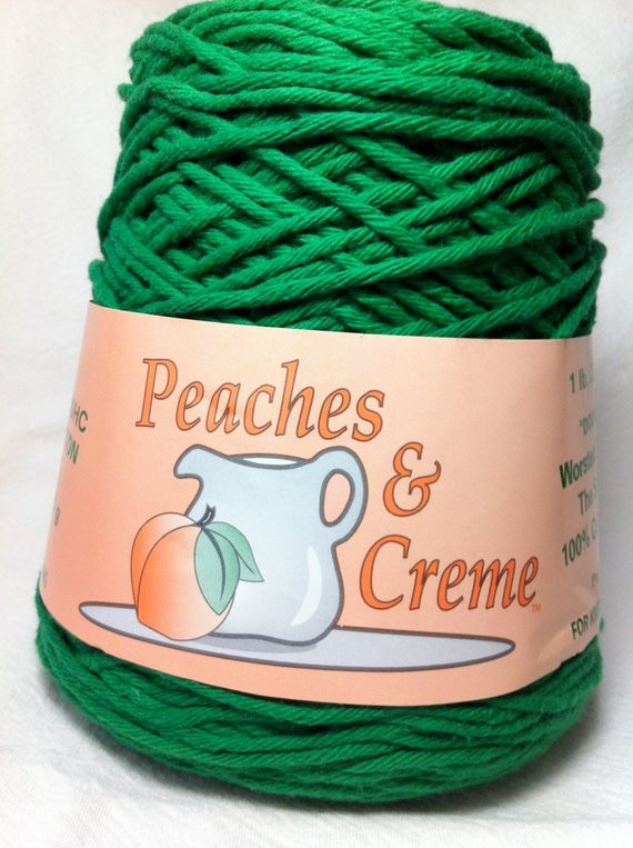 Peaches and Cream Yarn Website Best Of Peaches & Creme 1 Lb Cone by Flutteringfibers On Etsy Of Wonderful 47 Models Peaches and Cream Yarn Website