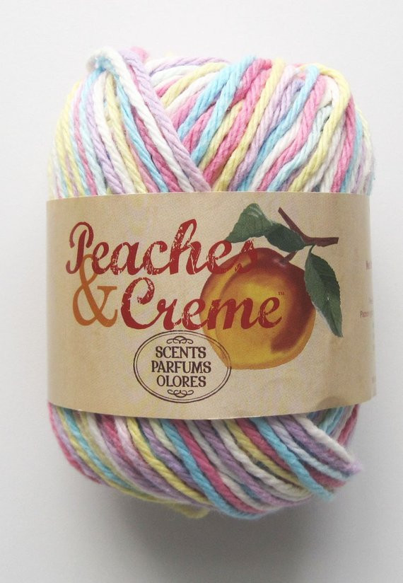 Peaches and Cream Yarn Website New Cotton Yarn Peaches and Creme Floral by Sandisstashshop Of Wonderful 47 Models Peaches and Cream Yarn Website