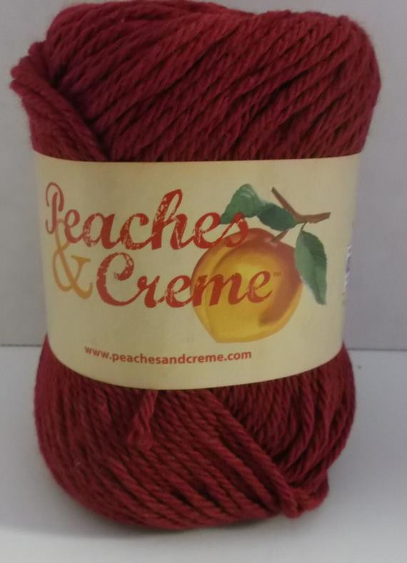Peaches and Creme Yarn Crochet Patterns Unique Peaches & Creme Cotton Yarn Colour Burgundy 4 Medium Of Amazing 42 Ideas Peaches and Creme Yarn Crochet Patterns