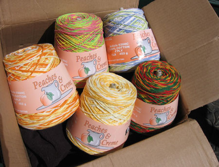 PEACHES & CREME YARN PATTERNS