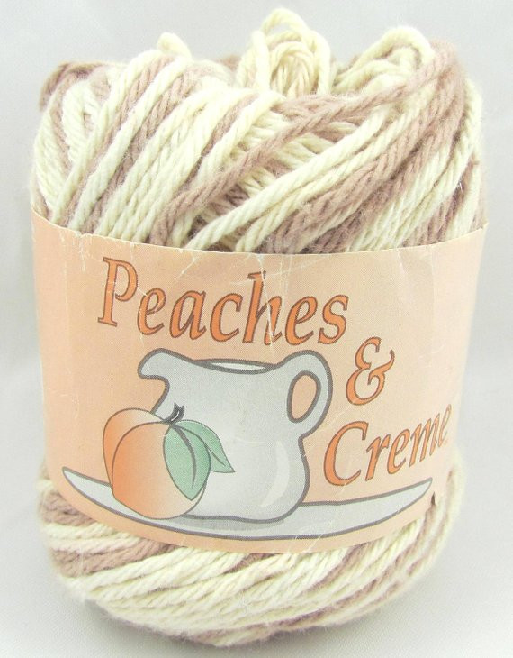 DESERT SAND Peaches & Creme Yarn 1 Ball