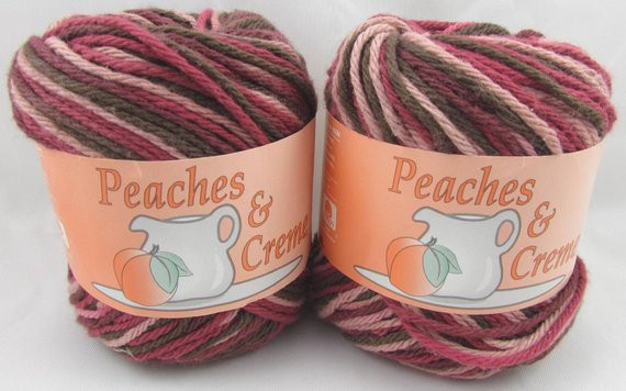 Peaches N Cream Yarn Lovely Raspberry Swirls Peaches & Creme Yarn 2 Balls Of Awesome 41 Pictures Peaches N Cream Yarn