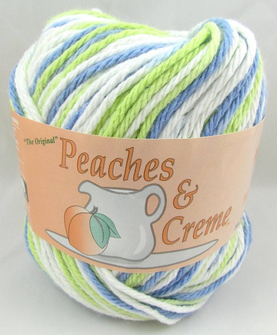 Peaches N Cream Yarn New Sea Mist Peaches & Creme Yarn 1 Ball by Carolscabin On Etsy Of Awesome 41 Pictures Peaches N Cream Yarn