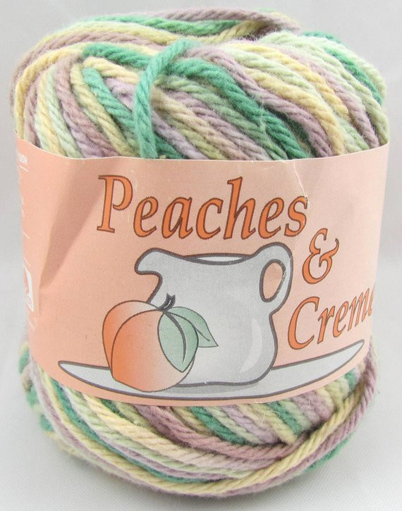 Peaches N Cream Yarn Unique Desert Bloom Peaches & Creme Yarn 1 Ball by Carolscabin On Of Awesome 41 Pictures Peaches N Cream Yarn