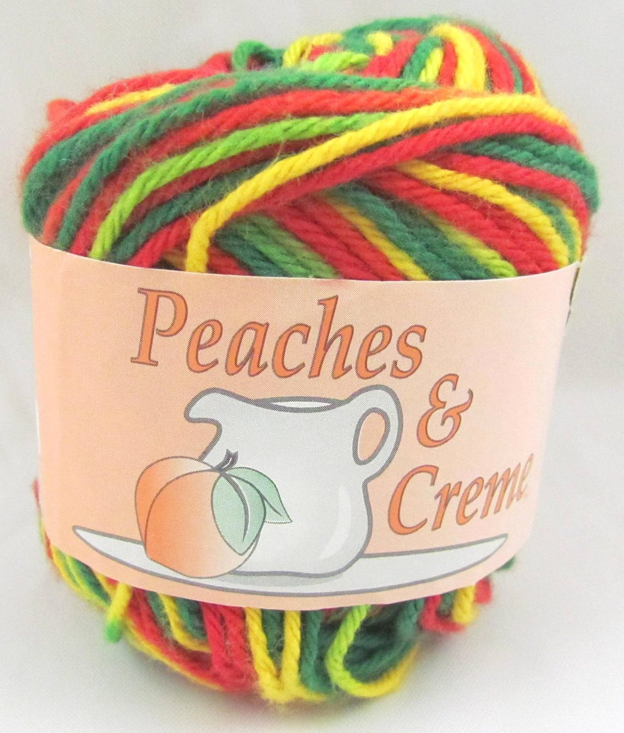 Peaches N Cream Yarn Unique Mexacali Peaches & Creme Yarn 1 Ball by Carolscabin On Etsy Of Awesome 41 Pictures Peaches N Cream Yarn
