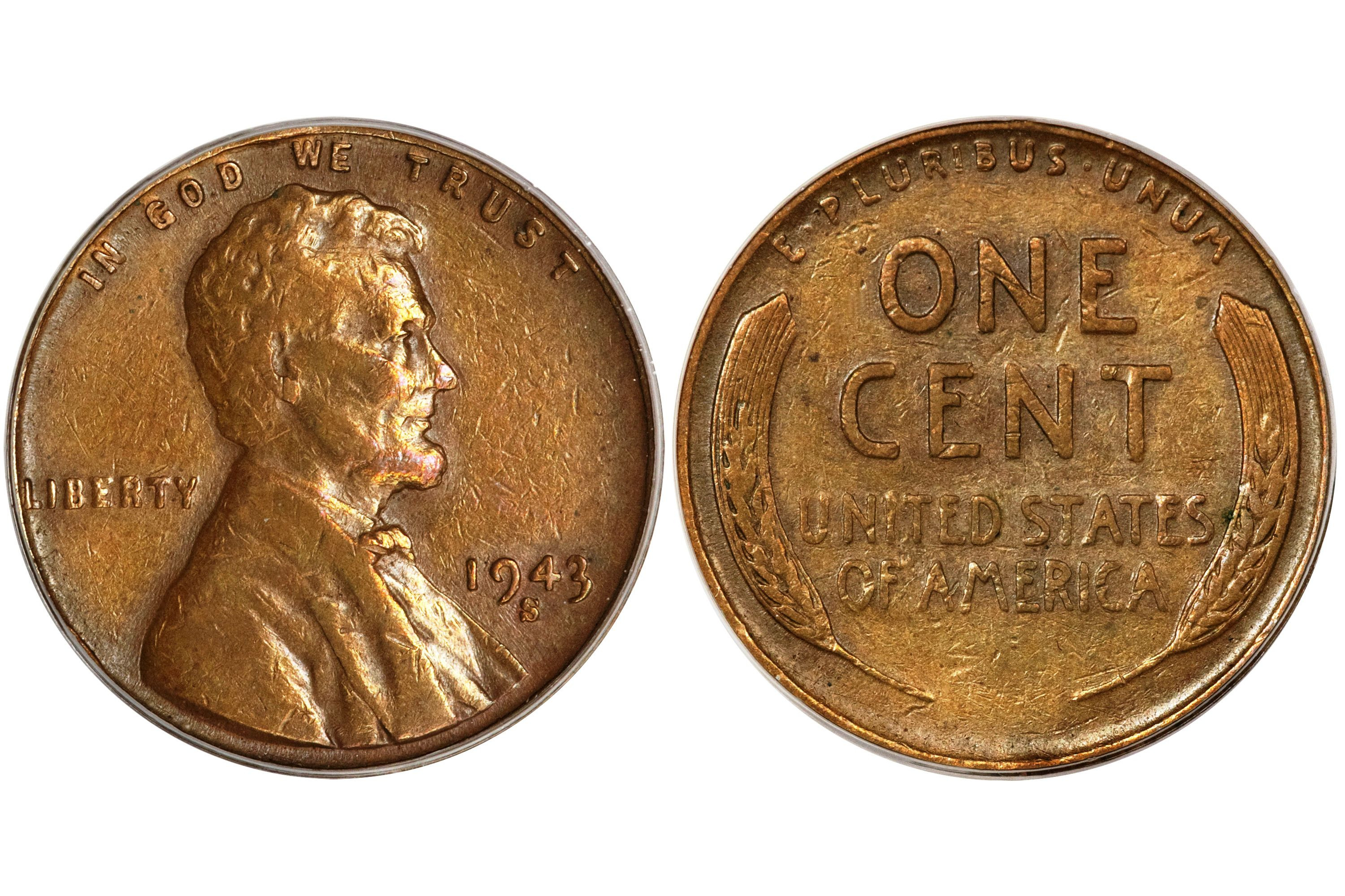 Pennies Worth Money Luxury the 1943 S Copper Penny Found by Kenneth Wing Of Awesome 43 Pictures Pennies Worth Money