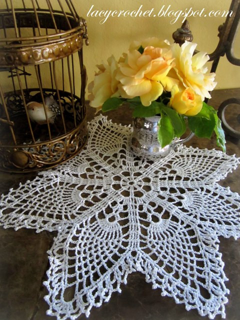 Pineapple Doily Awesome Lacy Crochet Easy Pineapple Doily Of Top 46 Photos Pineapple Doily