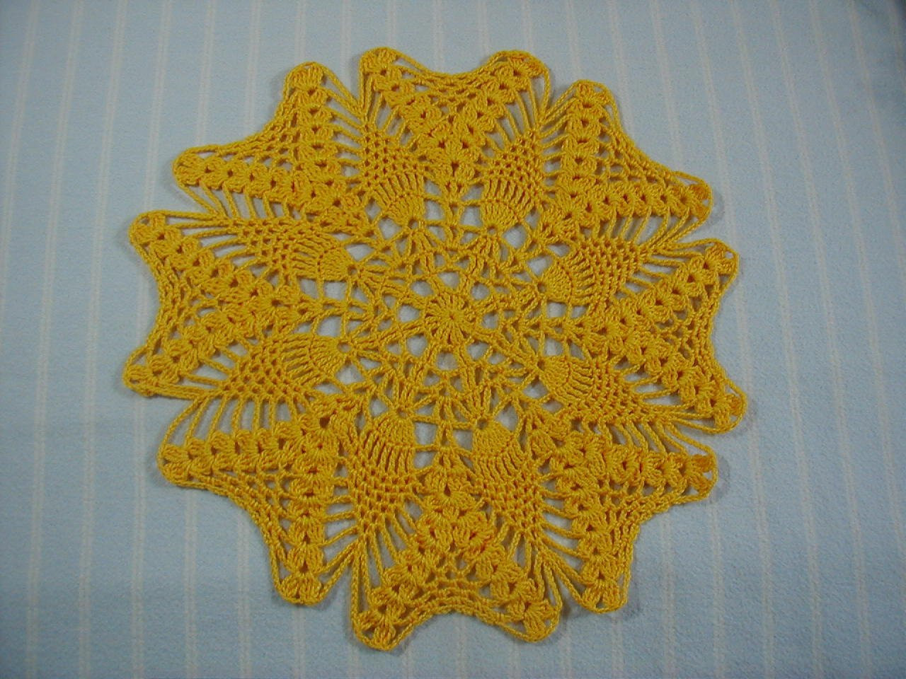Pineapple Doily Beautiful Gold Doily 10 Inch Doily Pineapple Doily Hand Crocheted Cotton Of Top 46 Photos Pineapple Doily
