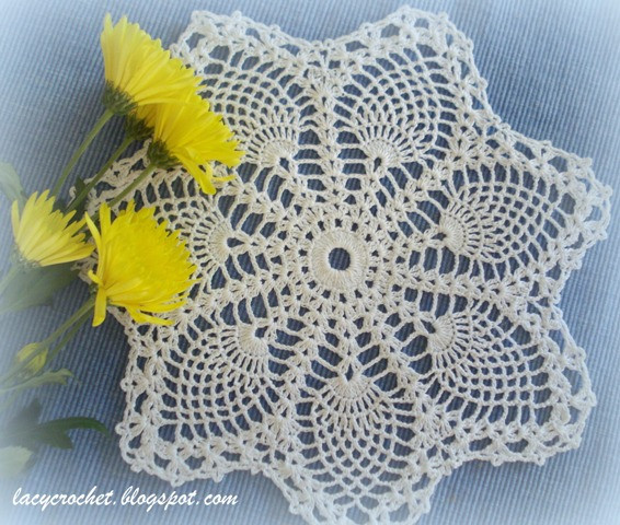 Pineapple Doily Beautiful Lacy Crochet Doily Of the Week 14 Small Pineapple Doily Of Top 46 Photos Pineapple Doily