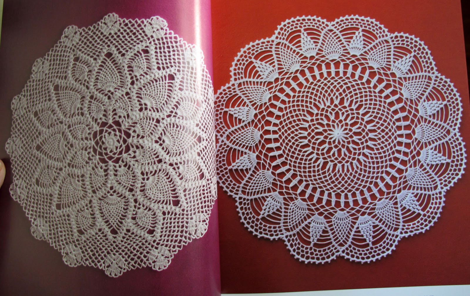 Pineapple Doily Best Of My Doll Side Japanese Crochet Doily Book Of Top 46 Photos Pineapple Doily