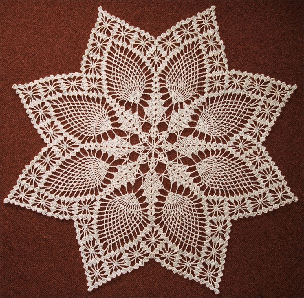 Pineapple Doily Crochet Patterns Awesome Pineapple Doily Crochet Pattern Doilies Of Perfect 47 Models Pineapple Doily Crochet Patterns