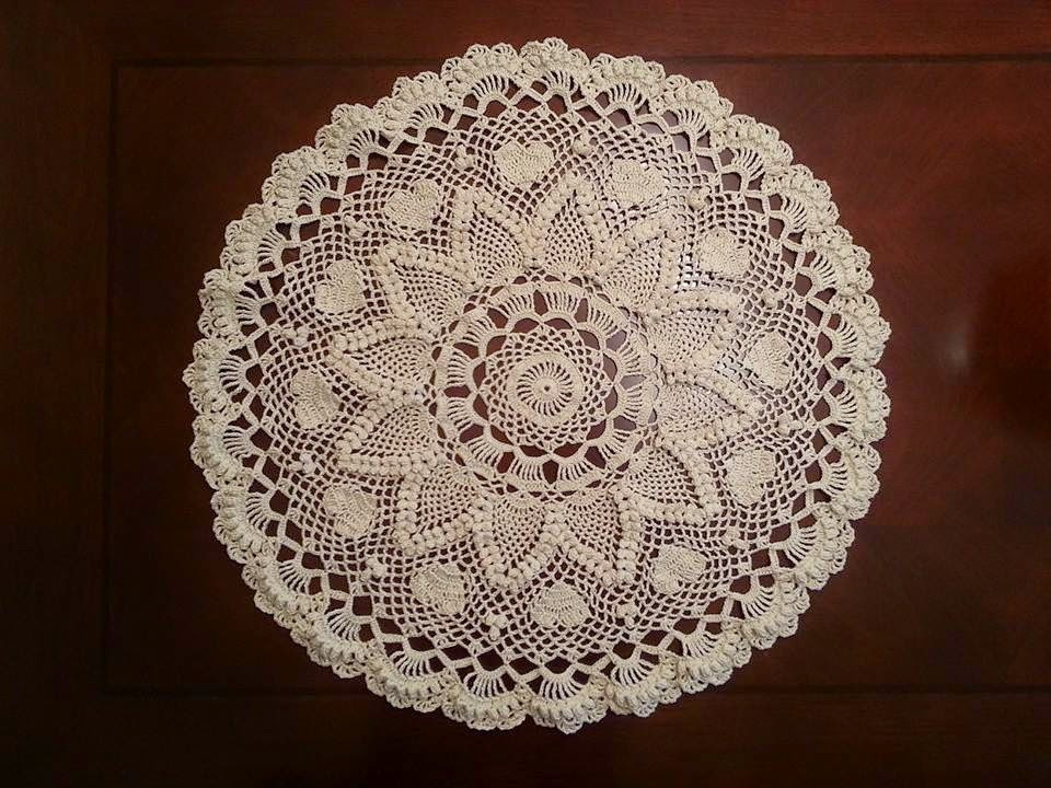Pineapple Doily Crochet Patterns Best Of Jeego Crochet Romantic Pineapples Doily Of Perfect 47 Models Pineapple Doily Crochet Patterns