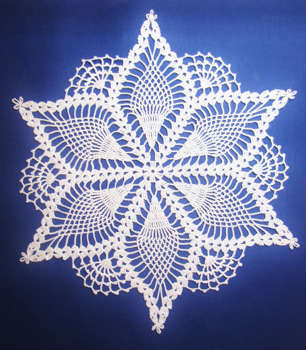 Pineapple Doily Crochet Patterns New Bellacrochet the Snow Queen Doily Pattern is now Available Of Perfect 47 Models Pineapple Doily Crochet Patterns