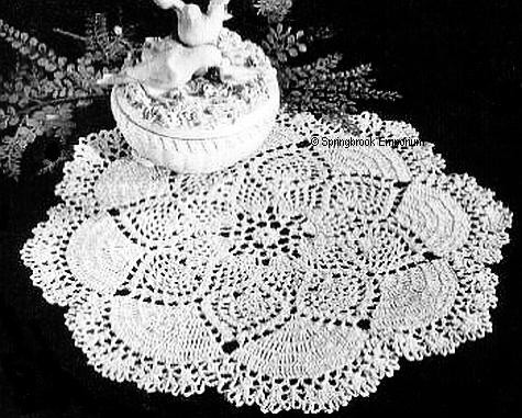 Pineapple Doily Crochet Patterns New Crochet Doily Patterns Free Download Dancox for Of Perfect 47 Models Pineapple Doily Crochet Patterns