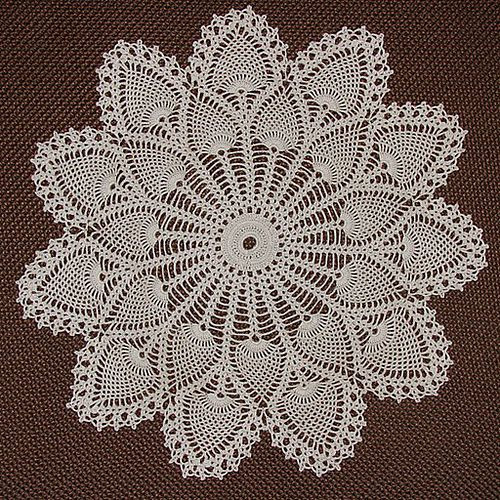 Pineapple Doily Crochet Patterns Unique 158 Best Images About Crochet Table Runners On Pinterest Of Perfect 47 Models Pineapple Doily Crochet Patterns