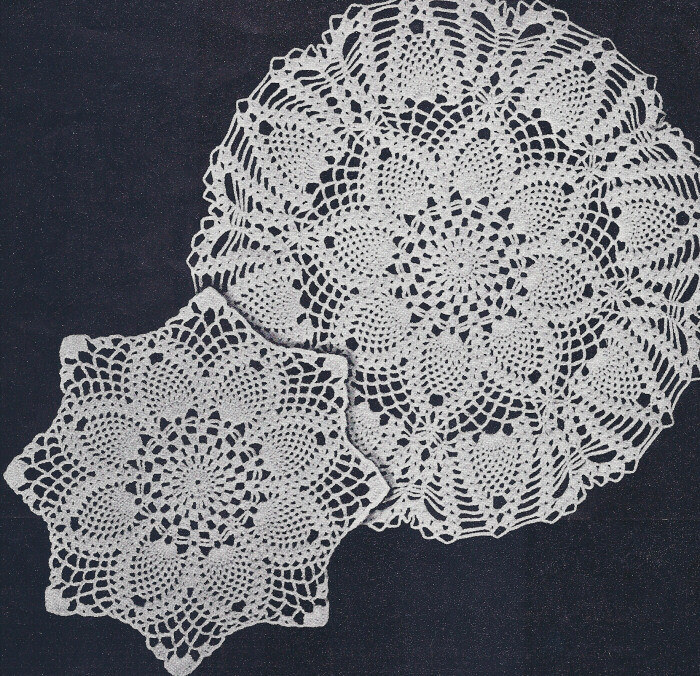 Pineapple Doily Lovely Free Crochet Doily Patterns Vintage Dancox for Of Top 46 Photos Pineapple Doily