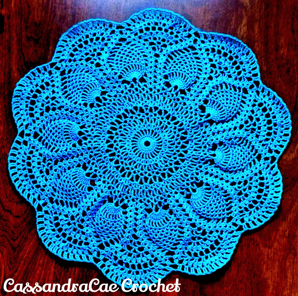 Pineapple Doily Lovely these 10 Beautiful and Free Crochet Doily Patterns are Of Top 46 Photos Pineapple Doily