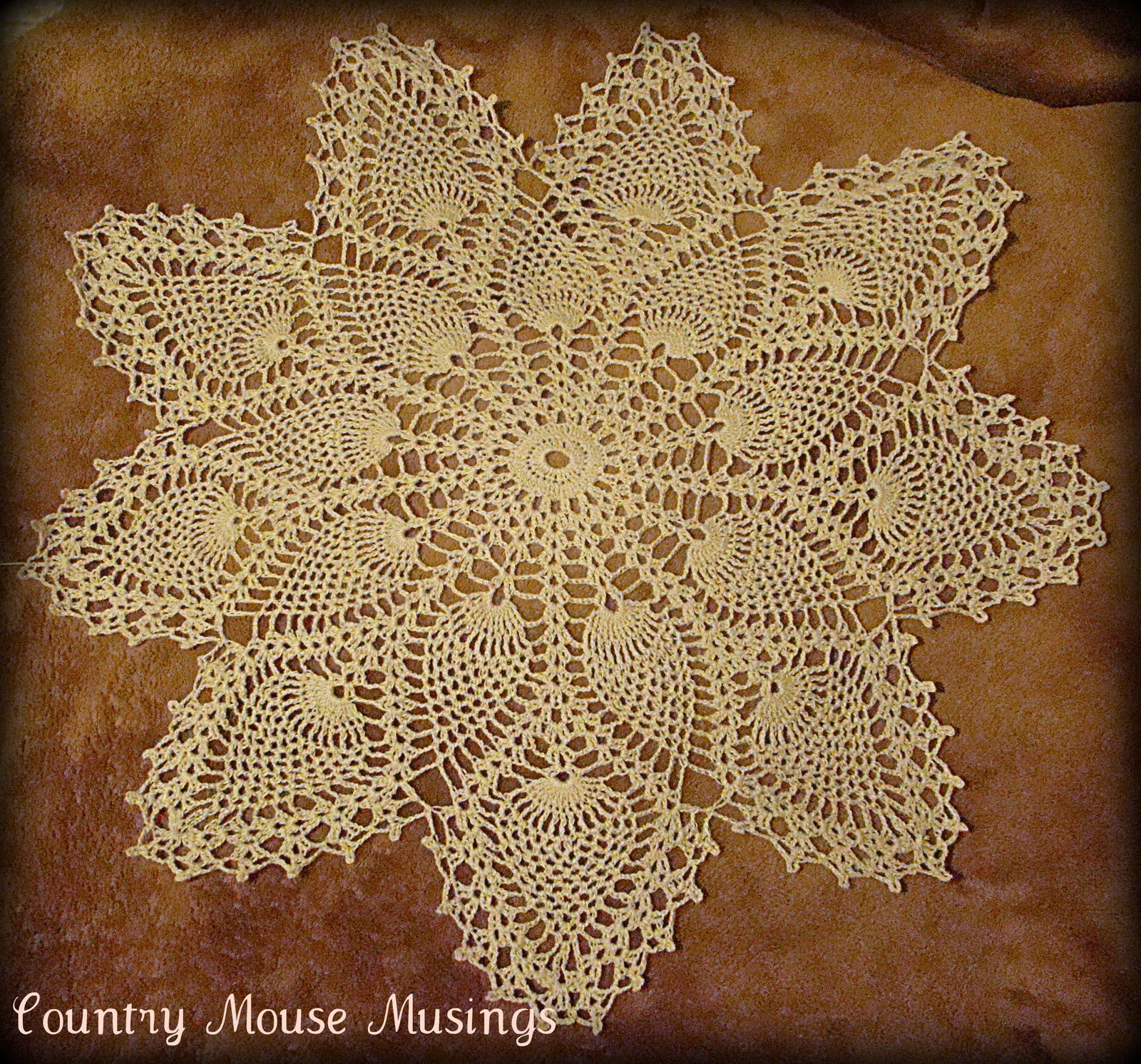 Pineapple Doily Luxury Country Mouse Musings Vintage Pineapple Doily Pattern Set Of Top 46 Photos Pineapple Doily