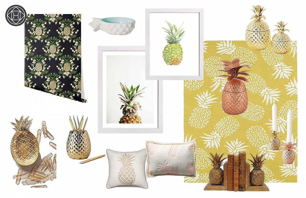 Pineapple Home Accessories Awesome Our Love Affair with Pineapple Decor Of Contemporary 40 Models Pineapple Home Accessories
