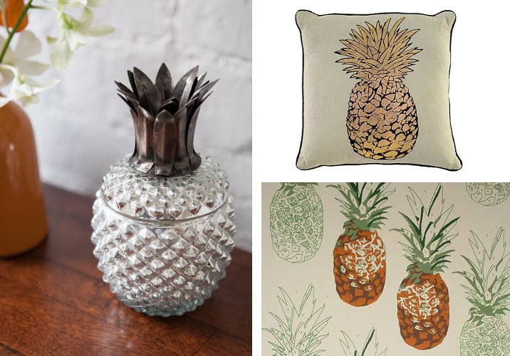 Pineapple Home Accessories Elegant Home Accessories Go Tropical Of Contemporary 40 Models Pineapple Home Accessories
