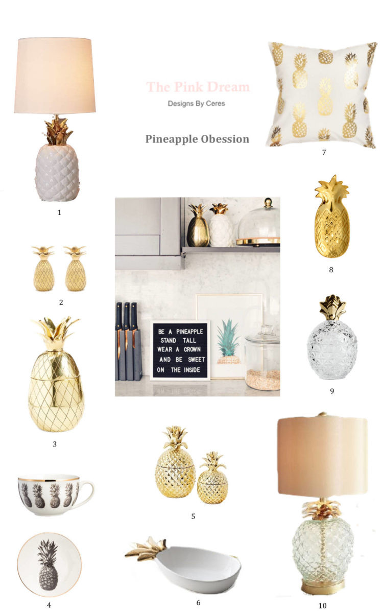 Pineapple Home Accessories Fresh Latest Pineapple Obsession for Your Home the Pink Dream Of Contemporary 40 Models Pineapple Home Accessories