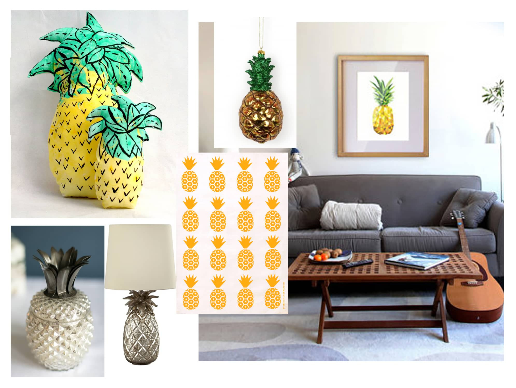 Pineapple Home Accessories Luxury Hot Tropical Trend Alert Of Contemporary 40 Models Pineapple Home Accessories
