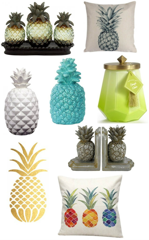 Pineapple Galore Fun Pineapple Themed Products