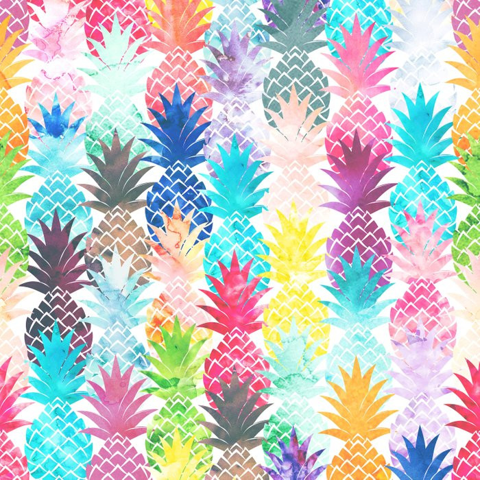 Pineapple Pattern Awesome Hawaiian Pineapple Pattern Tropical Watercolor Duvet Cover Of Amazing 47 Images Pineapple Pattern