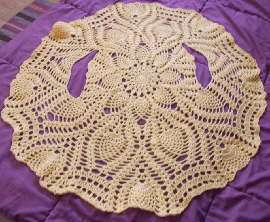 Pineapple Pattern Beautiful Sweet Nothings Crochet One Piece Pineapple Bolero Of Amazing 47 Images Pineapple Pattern