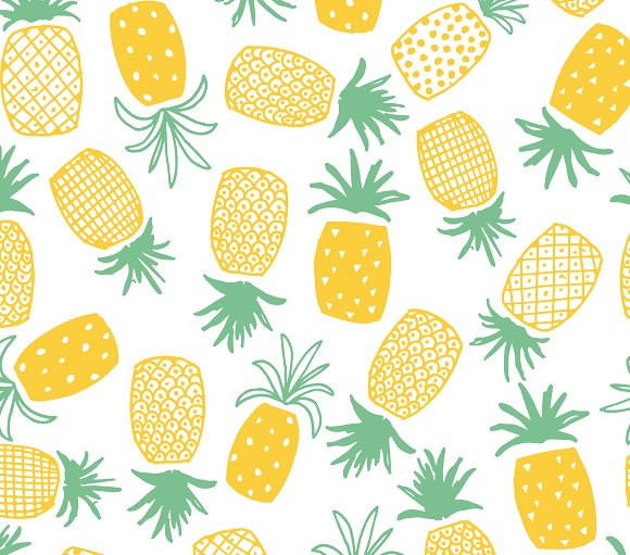 Pineapple Pattern Fresh Pineapple Print Seamless Pattern Patterns Creative Market Of Amazing 47 Images Pineapple Pattern