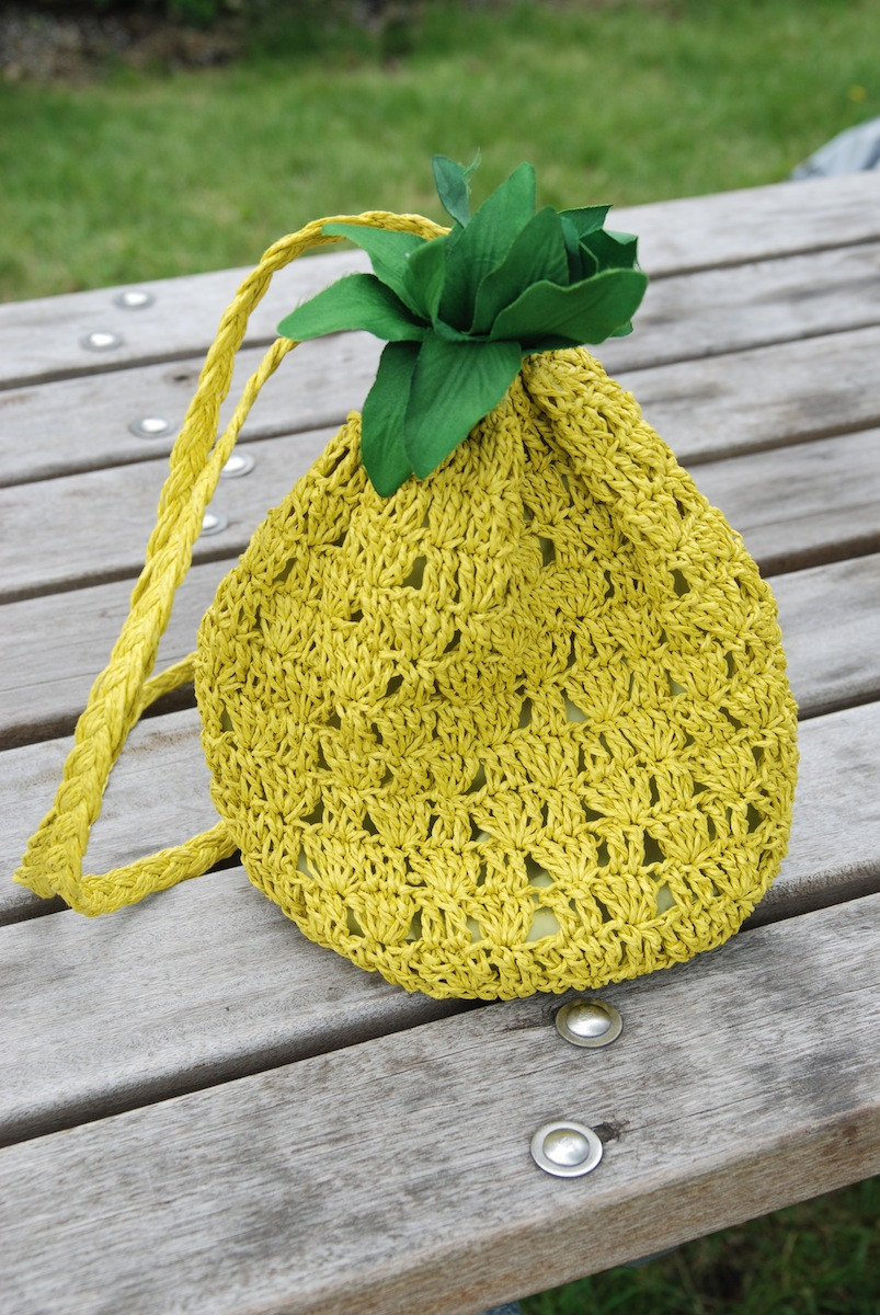 Pineapple Pattern Lovely Pineapple Crochet Bag Pattern Wmperm for Of Amazing 47 Images Pineapple Pattern