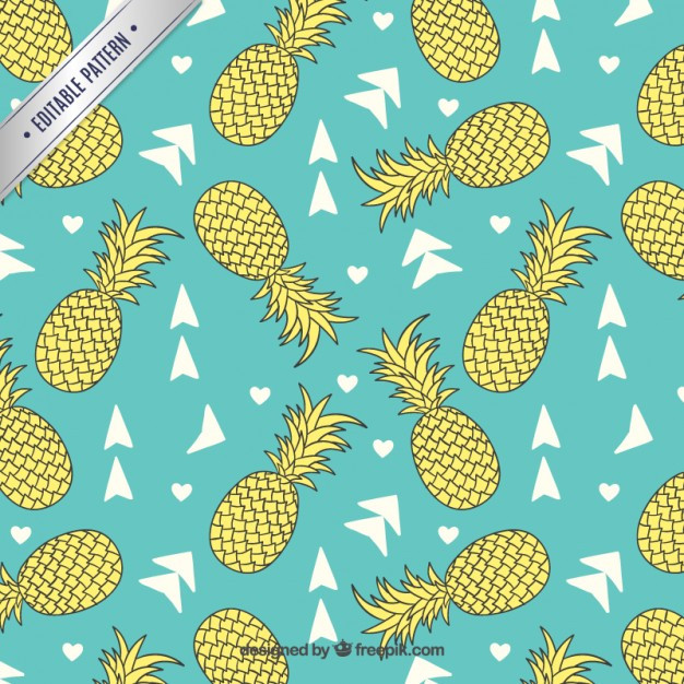 Pineapple Pattern Luxury Pineapples Pattern Vector Of Amazing 47 Images Pineapple Pattern