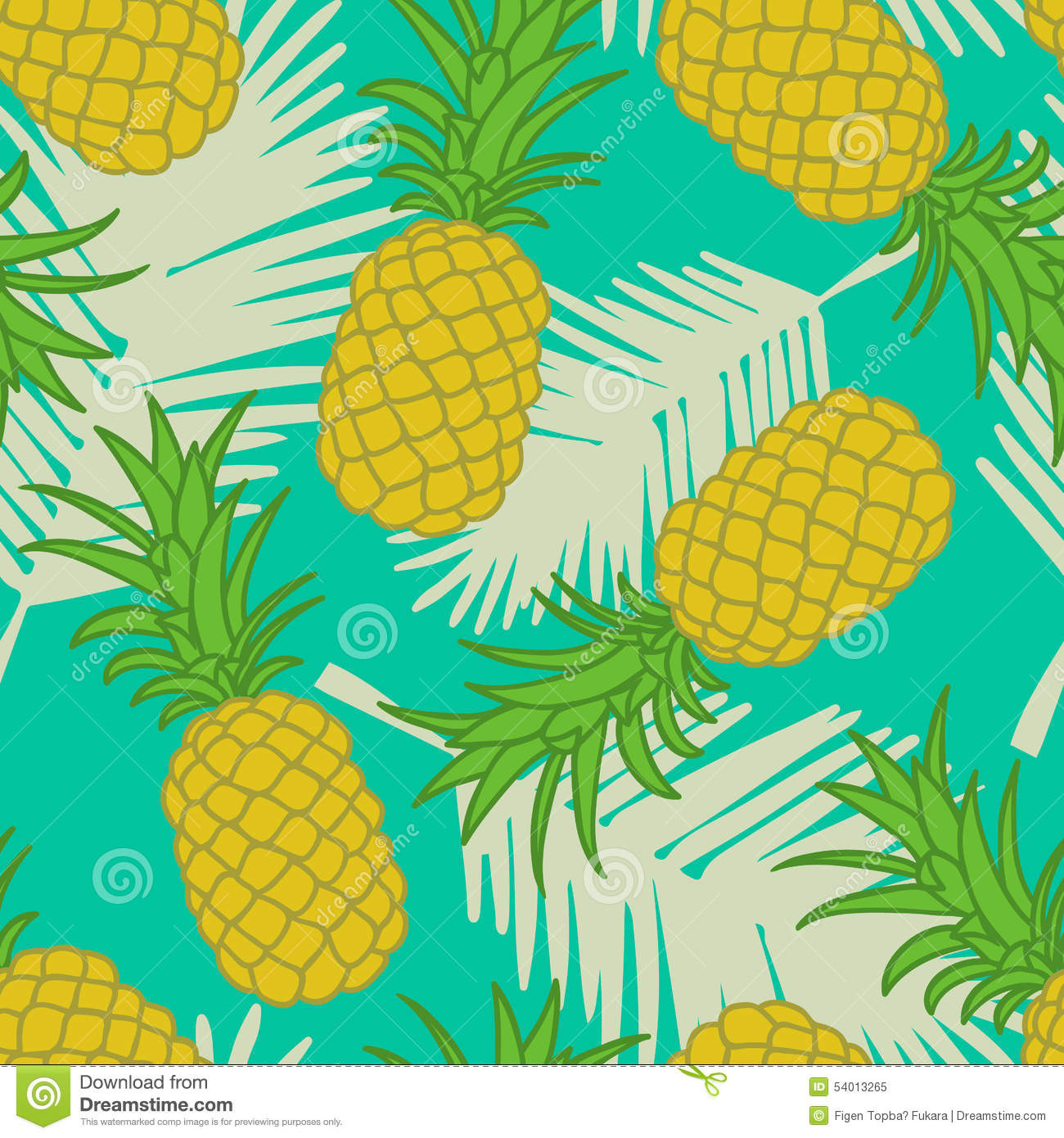 Pineapple Pattern New Seamless Pineapple Pattern Stock Vector Illustration Of Of Amazing 47 Images Pineapple Pattern